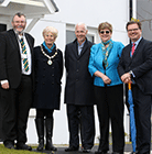 New homes celebrated in Blackwater